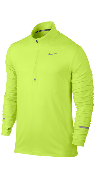 Nike Dri-FIT Element Løbe T-shirt Herrer gul